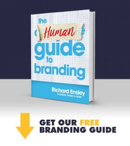 Human Guide to Branding Book by Richard Ensley